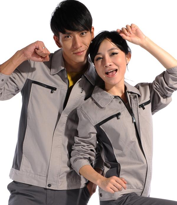 纯棉长袖工作服